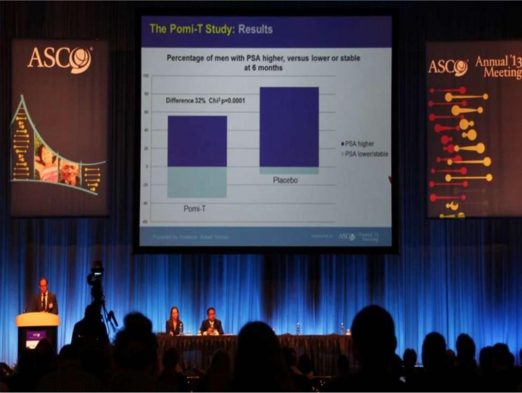 Pomi-T tyrimo pristatymas ASCO konferencijoje